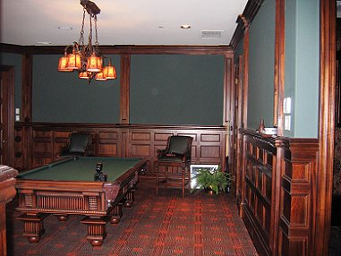 Game Room Paneling