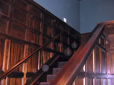 Back Stair Paneling